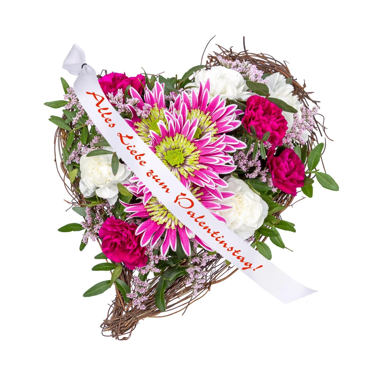 Für Dich Und Schleife: Alles Liebe Zum Valentinstag! Und Süße Valentinstags Grüße    Jetzt Bestellen Bei Valentins | Valentins Blumenversand   Blumen Und ...