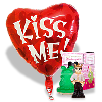 Ballon-Set Kiss me