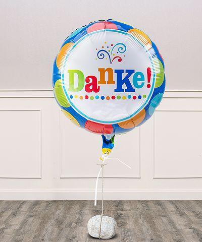 geburtstagskuchen versenden mit luftballon