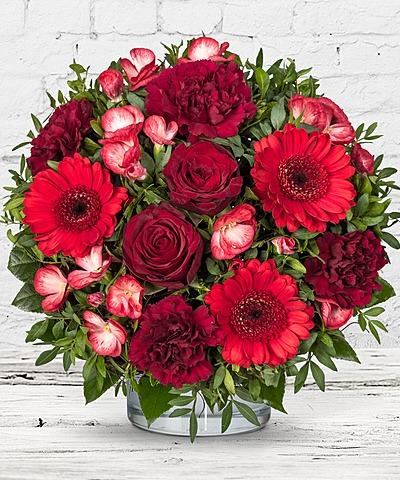 Schön Valentinstagsgruß Von Valentins   Schenken Sie Freude! | Valentins  Blumenversand   Blumen Und Geschenke Versenden