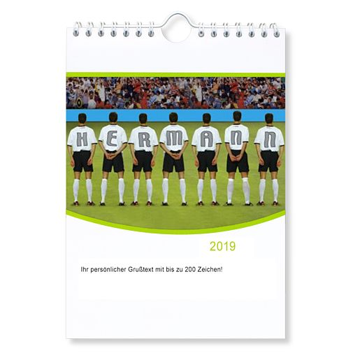 Mein eigener Wand-Kalender (DIN A3 - Hochformat)