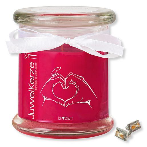 JuwelKerze Ich liebe Dich von Valentins.de bestellen