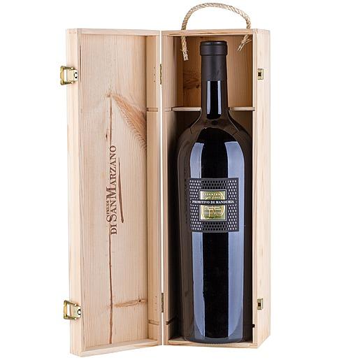 Doppelmagnum (3 L) Wein San Marzano Primitivo di Manduria 60 anni Sessantanni 2012