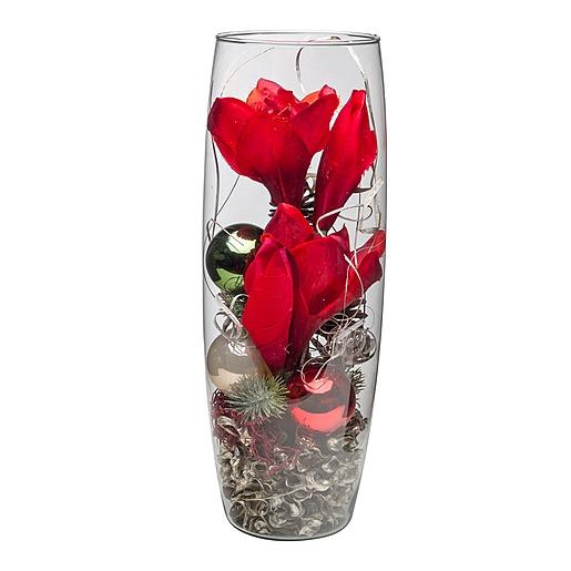 Kugelvase Ruby Red (40 cm)