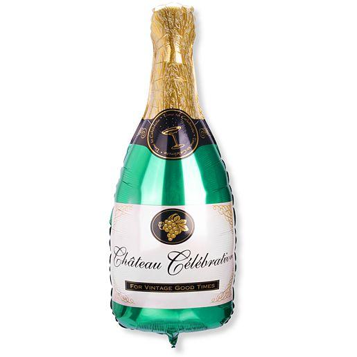 Riesenballon Champagner Flasche und Mein eigener Goldtraum