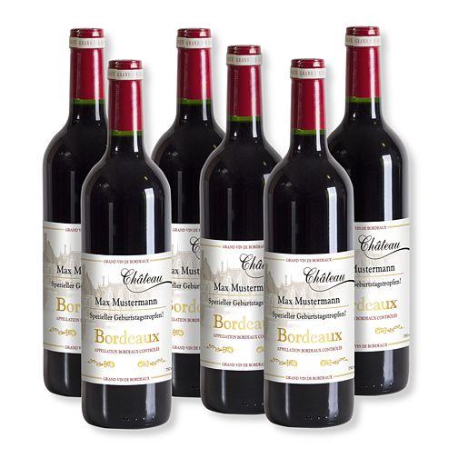 Mein eigener Bordeaux (6x 0,75 l)
