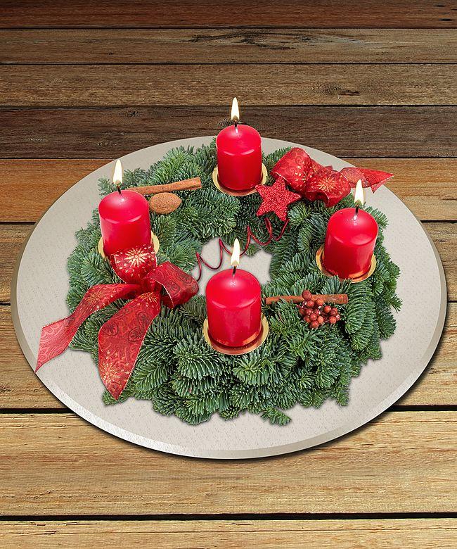 adventskranz advent advent und xmas countdown jetzt bestellen bei valentins valentins. Black Bedroom Furniture Sets. Home Design Ideas
