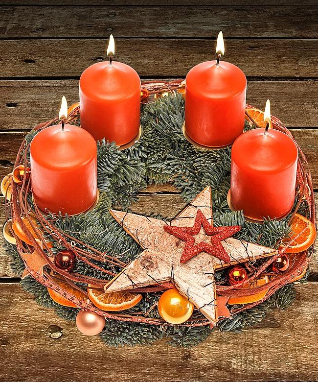Adventskranz merry christmas und gratis xmas countdown for Adventskranz bestellen
