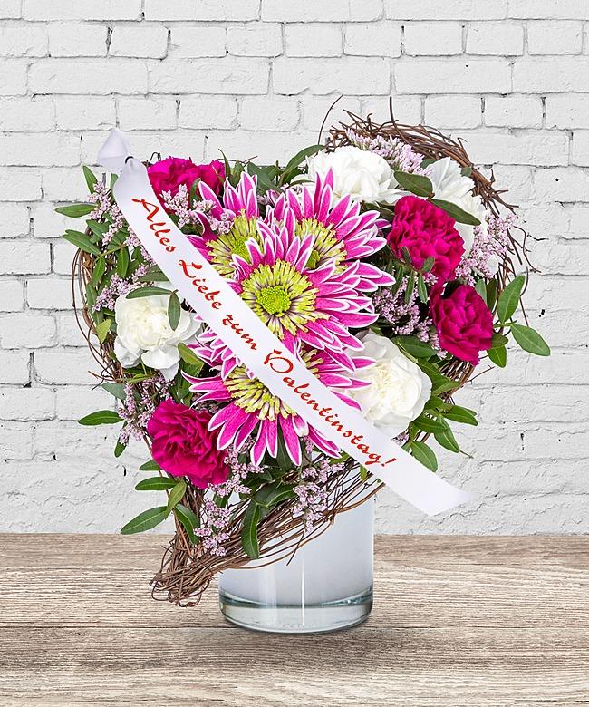 Für Dich Und Schleife: Alles Liebe Zum Valentinstag! Und Süße Valentinstags  Grüße