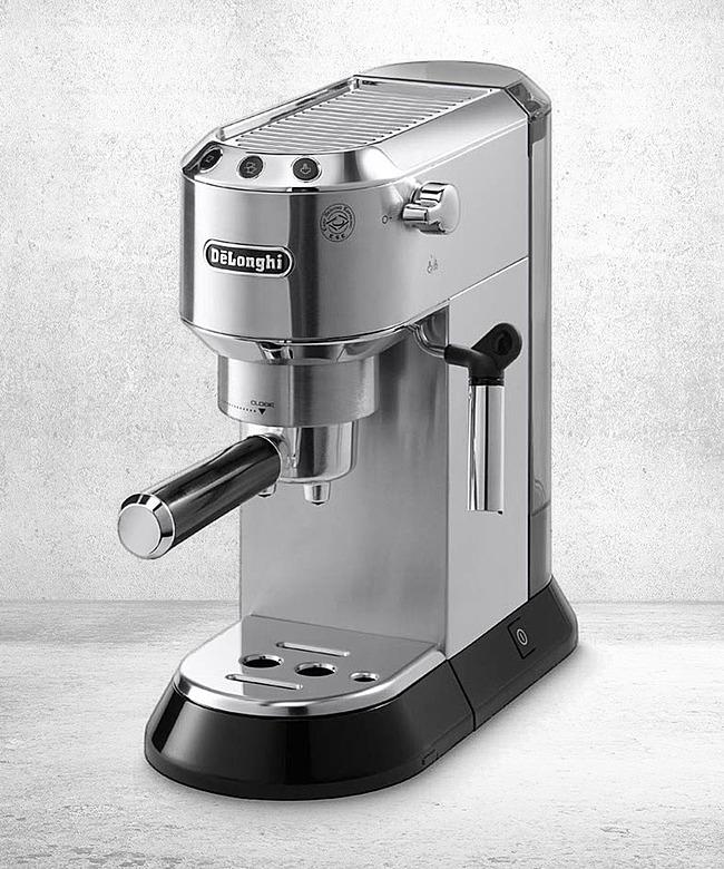 delonghi ec 680 m espressomaschine siebtr ger silber jetzt bestellen bei valentins valentins. Black Bedroom Furniture Sets. Home Design Ideas