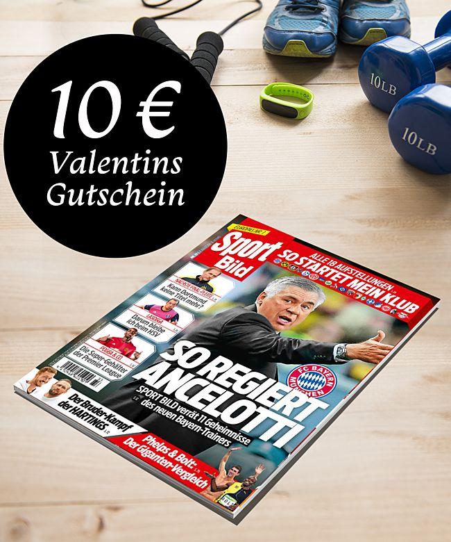 zeitschrift sportbild halbjahres geschenkabo jetzt bestellen bei valentins valentins. Black Bedroom Furniture Sets. Home Design Ideas