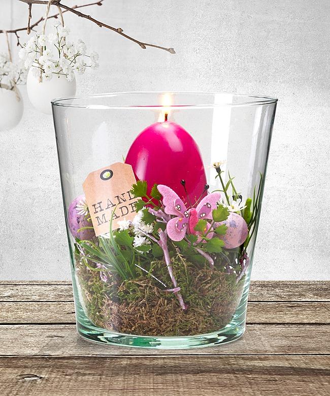 Deko vase ostern pink 15 cm und macarons jetzt for Deko ostern