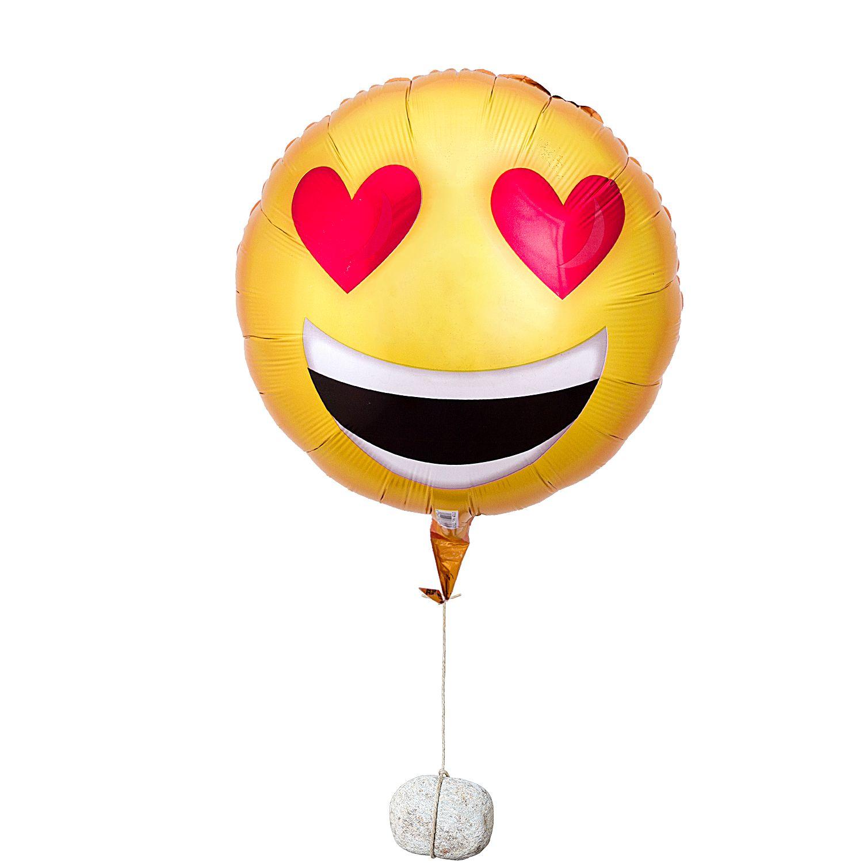 Ballon Love Emoji Und Kuchen Im Glas Geburtstag