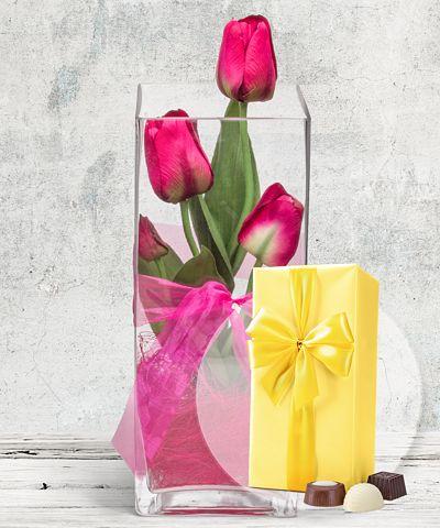 Blumen deko vasen vom blumen und geschenkeversand for Deko geschenke shop