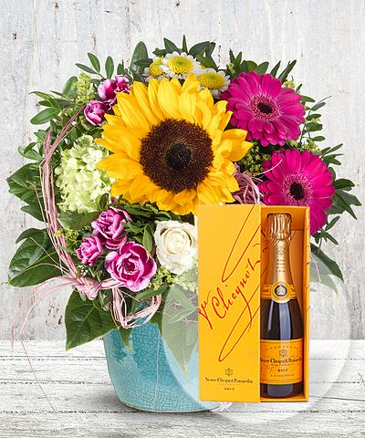 Endless Summer und Champagner Veuve Clicquot