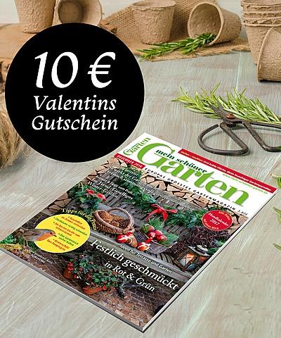 Zeitschrift Mein Schöner Garten Halbjahres Geschenkabo