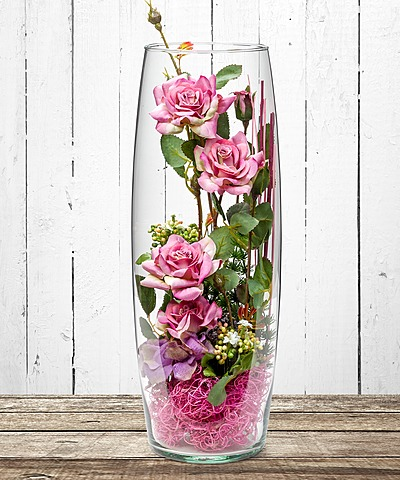 Deko vase orchidee 40cm jetzt bestellen bei valentins valentins blumenversand blumen und - Hohe vase dekorieren ...