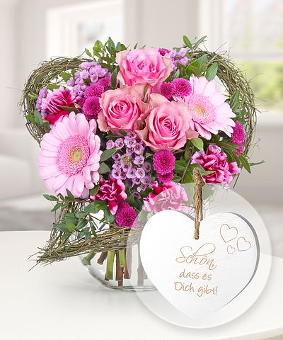 Blumen Mit Geschenk Blumen Und Prasente Verschicken Valentins