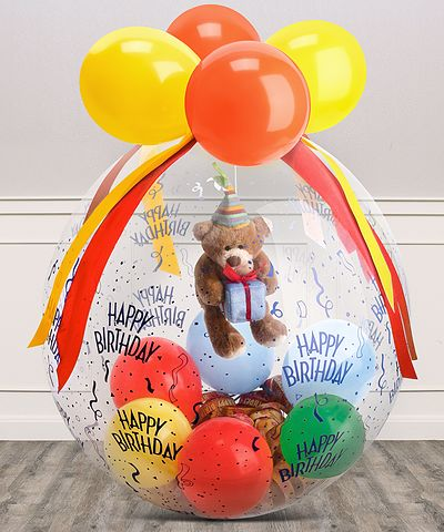 Stuffer-Ballon Happy Birthday