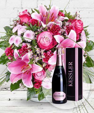 Blumen Mit Geschenk Blumen Und Präsente Verschicken Valentins