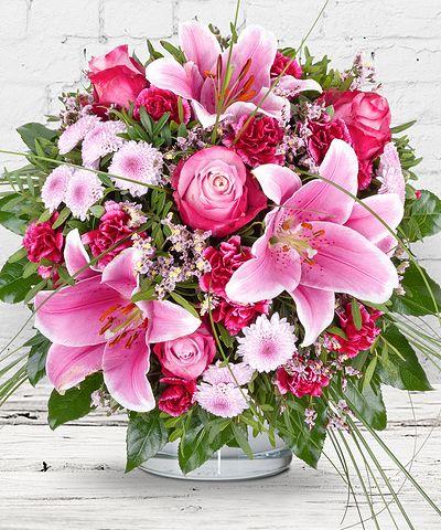 Blumensträuße Verschicken Blumenversand Valentins Valentins