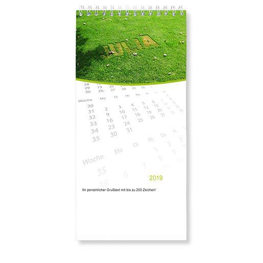 Mein eigener Tisch-Kalender (120 x 250 mm)