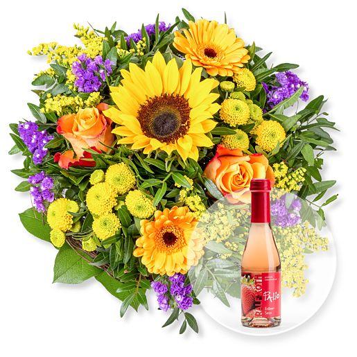 Nützlichblumen - Sunny Day und Alkoholfreier Erdbeer Secco - Onlineshop Valentins