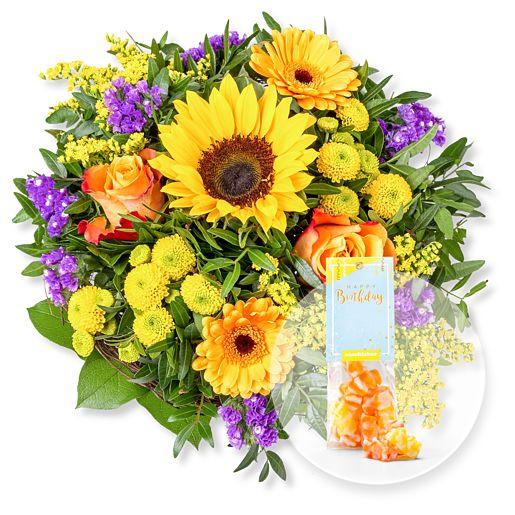 Sunny Day und Fruchtgummi Happy Birthday