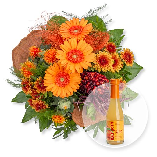 Nützlichblumen - Amber und Pfirsich Bellini Secco - Onlineshop Valentins