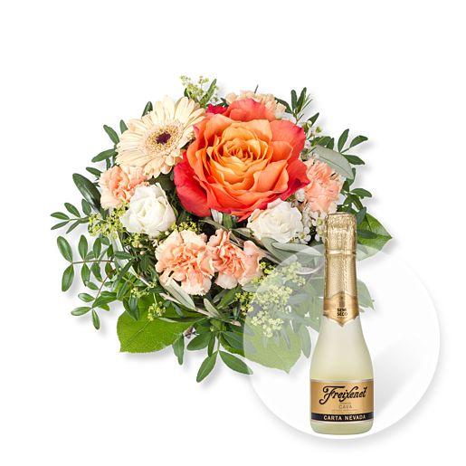 Nützlichblumen - Dolce Vita und Freixenet Semi Seco - Onlineshop Valentins