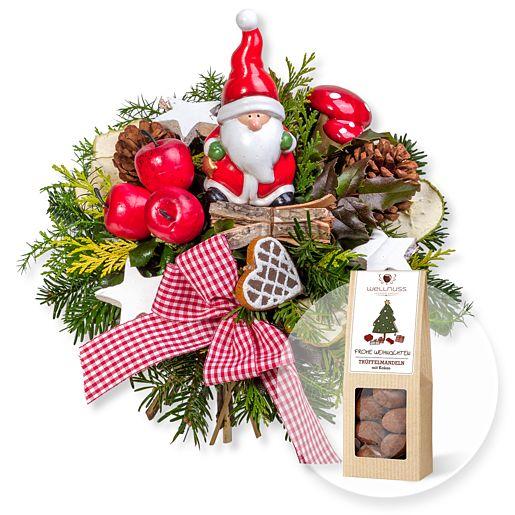 Santa Claus und Trüffelmandeln