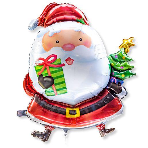 Partybedarfballons - Riesenballon Santa Claus - Onlineshop Valentins