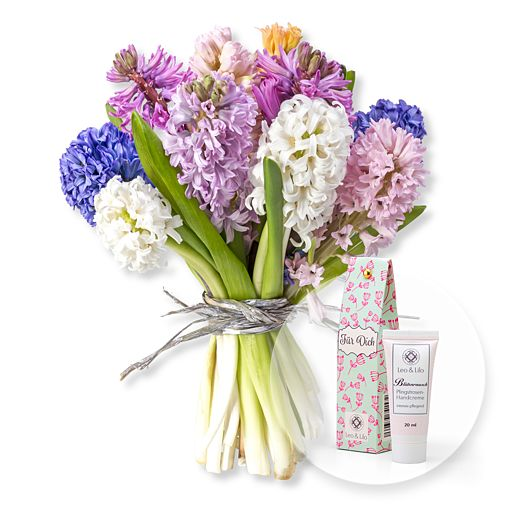 10 gemischte Hyazinthen und Blütenrausch Pfingstrosen Handcreme Für Dich