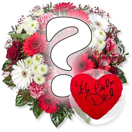 Big Romantic Surprise und Kuschel-Herz Ich liebe Dich