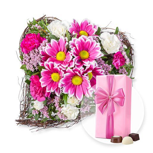 Nützlichblumen - Für Dich und Belgische Pralinen - Onlineshop Valentins