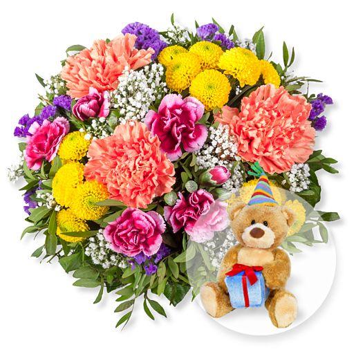 - Lieber Gruß und Glückwunsch Teddy - Onlineshop Valentins
