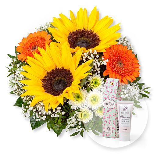 Schön, dass es dich gibt und Blütenrausch Pfingstrosen Handcreme Für Dich