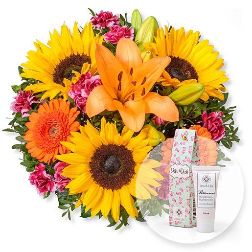 Sonnige Aussichten und Blütenrausch Pfingstrosen-Handcreme Für Dich