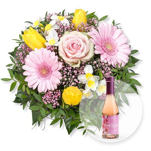 Frühlingserwachen und Kirschblüten-Secco