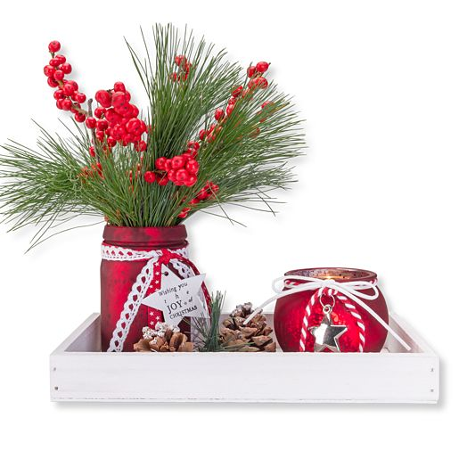 Vasen Set Christmas Time