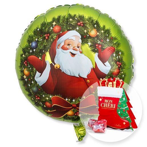 Ballon Nostalgie Santa und Mon Cheri Stiefel