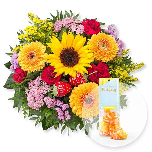 - Süße Sommerfreude und Fruchtgummi Happy Birthday - Onlineshop Valentins