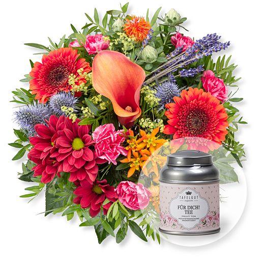 Nützlichblumen - Indian Summer und Für Dich Tee - Onlineshop Valentins