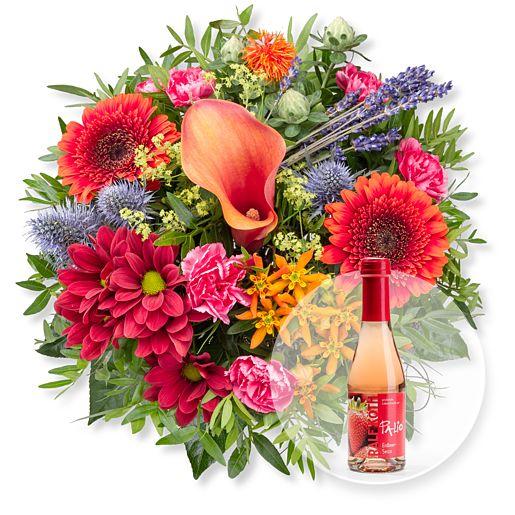 Nützlichblumen - Indian Summer und Alkoholfreier Erdbeer Secco - Onlineshop Valentins