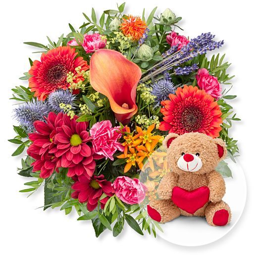 Herbstleuchten und Love Teddy