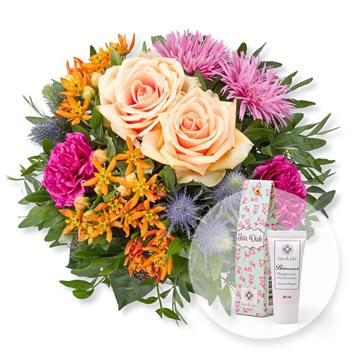 Nützlichblumen - Bella und Blütenrausch Pfingstrosen Handcreme Für Dich - Onlineshop Valentins