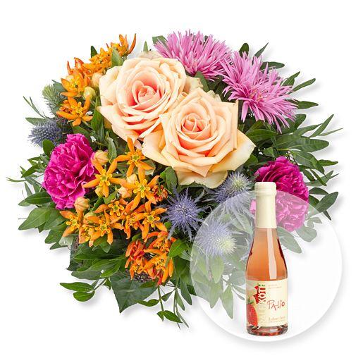 Nützlichblumen - Bella und Erdbeer Weiße Schokolade Secco - Onlineshop Valentins
