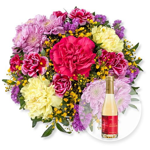 Flair und Rosenblüten-Secco Alles Liebe zum Valentinstag