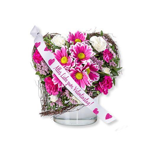 Für Dich und Schleife: Alles Liebe zum Valentinstag!