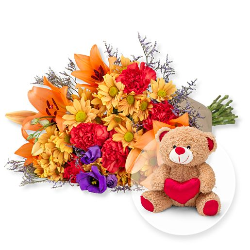 Samba XL und Love-Teddy